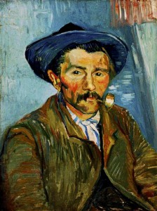 Van Gogh Smoking Peasant