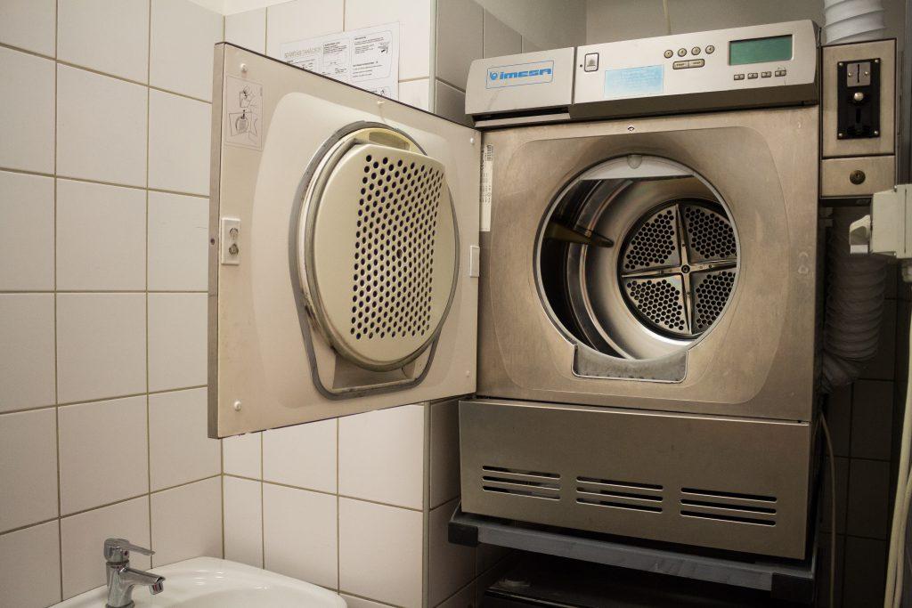 Kollégiumi mosógép